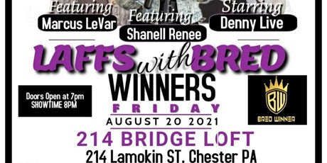 Laffs with BRED Winners tickets