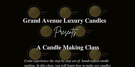 A Candle Making Class tickets