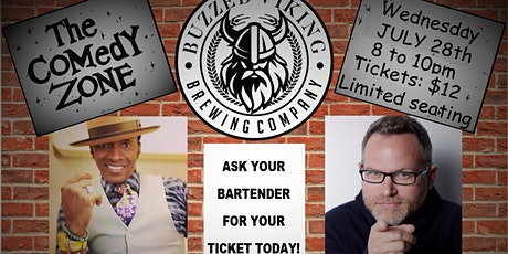 Comedy Zone at Buzzed Viking! tickets