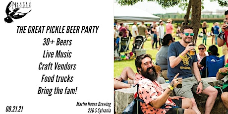 The Great Pickle Beer Backyard Party tickets