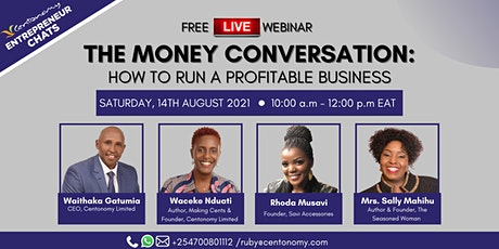 THE MONEY CONVERSATION : How to Run a Profitable Business tickets