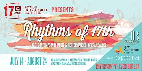 Rhythms of 17th tickets