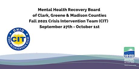 (CIT) Crisis Intervention Team Training Fall 2021 tickets
