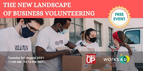 The New Landscape of Business Volunteering tickets