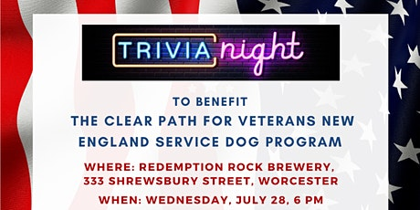 Trivia Night for Clear Path for Veterans New England tickets