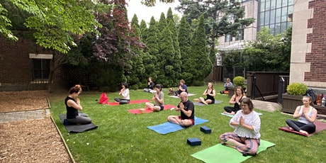 Yoga in Private  Garden at Brooklyn Society for  Ethical Culture tickets