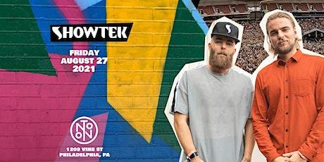 Showtek @ Noto Philly August 27th tickets