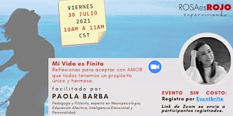 Grupo de Soporte: Mi Vida es Finita tickets