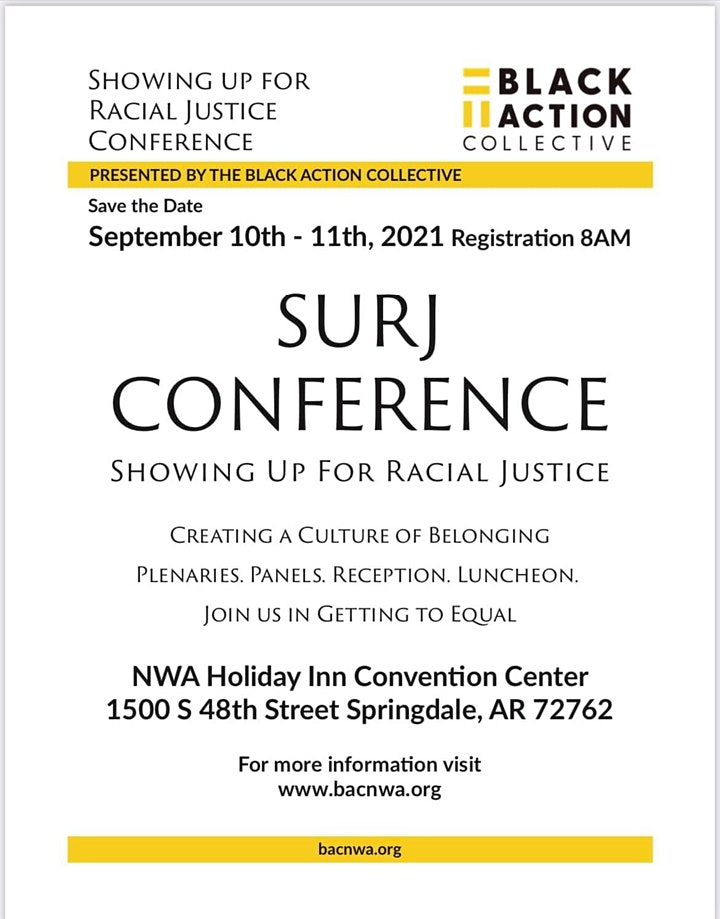 Showing up for Racial Justice Conference image