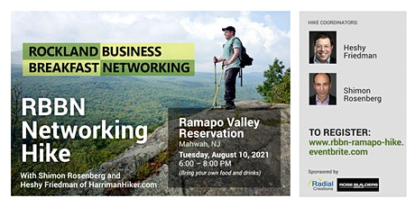 RBBN Networking Hike: Ramapo Reservation billets