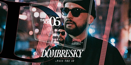 Dombresky at It'll Do Club tickets