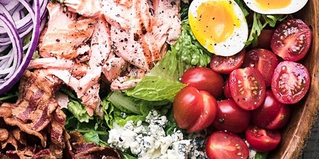 UBS - Virtual Cooking Class: Salmon Avocado  Spinach Salad tickets