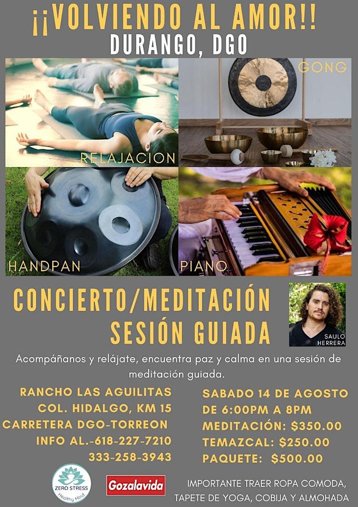 """Imagen de Concierto Meditación """"Volviendo al Amor"""""""