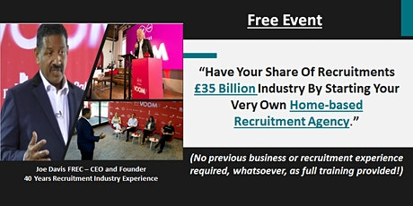 Start Your Own Highly Profitable Home-based Recruitment Agency tickets