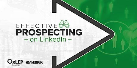 Effective Prospecting on LinkedIn tickets