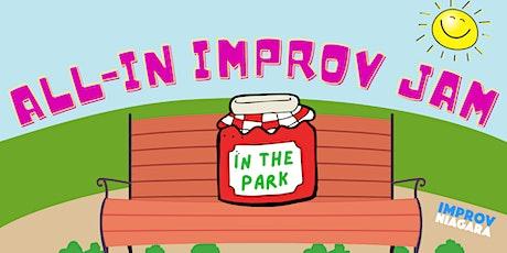 All-IN Improv Park Jam tickets