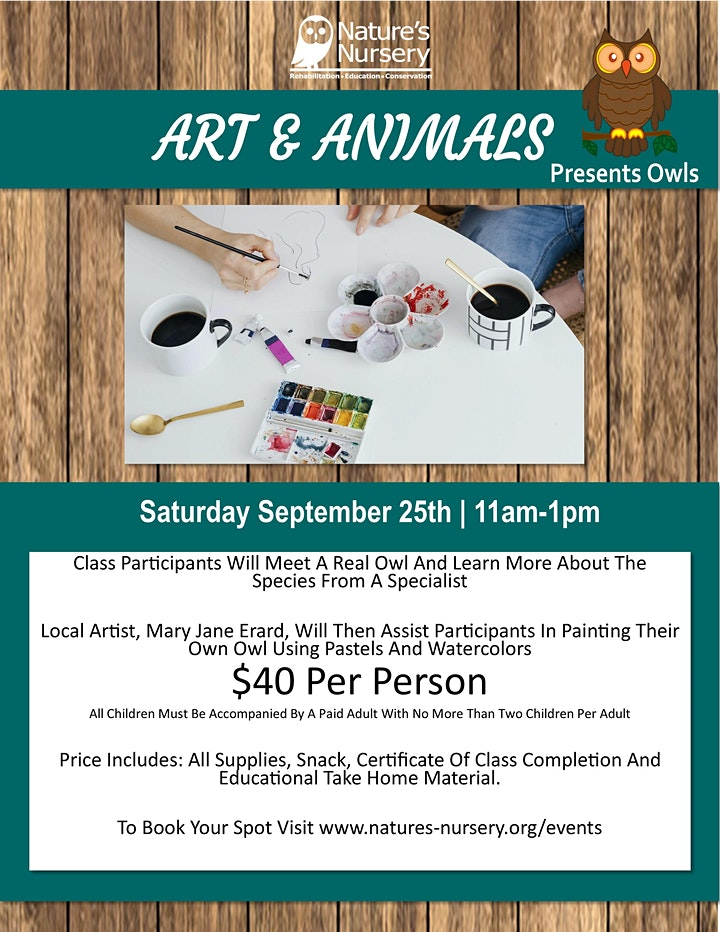 Art And Animals Presents Owls image