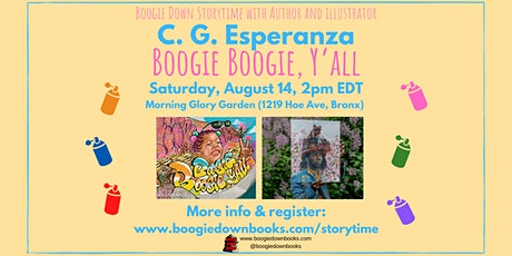 Boogie Down Storytime and Author Event at Morning Glory Garden (August 14) tickets