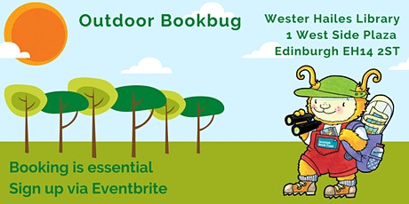 Outdoor Bookbug session for under 5s  - Wester Hailes Library tickets