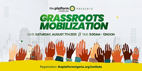 Grassroots Mobilization Tickets