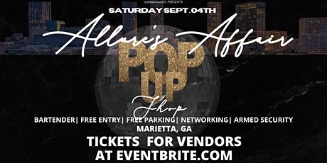 Allure's Affair Pop Up Shop tickets
