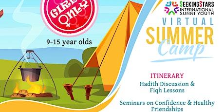 Seeking Stars Virtual Summer Camp (girls) tickets