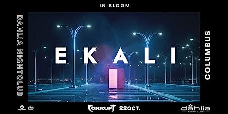 Ekali / October 22 / Dahlia tickets
