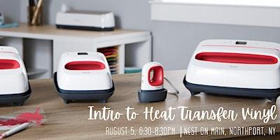 Intro to Heat Transfer Vinyl Workshop w/The Prancing Pug.