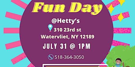 FUNDAY AT HETTY'S tickets