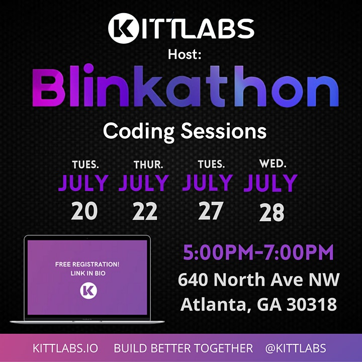 KITTLABS / BLINKSKY - Blinkathon Coding Sessions image