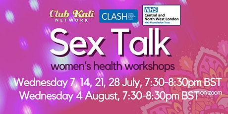 Sex Talk - Women's health workshops tickets