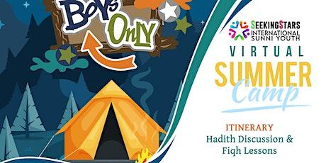 Seeking Stars Virtual Summer Camp (boys) tickets