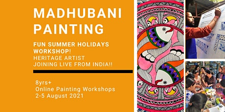 Madhubani Painting-Summer Holidays  Workshop! tickets