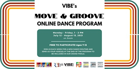VIBE's Move and Groove Dance Program tickets