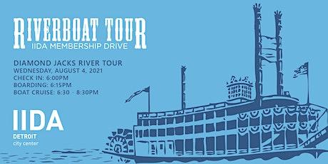 2021 IIDA Detroit Riverboat Tour & Membership Drive tickets