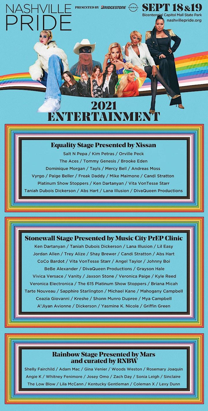 2021 Nashville Pride Festival image