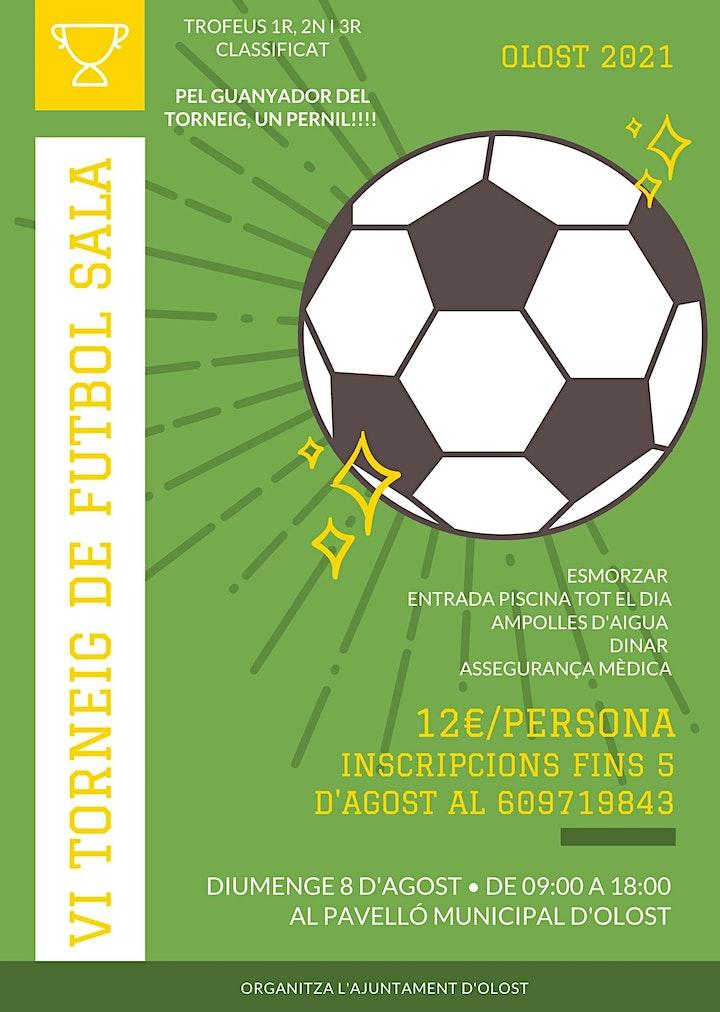 Imagen de Torneo Futbol Sala Olost 2021