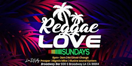 Reggae Love Sunday tickets