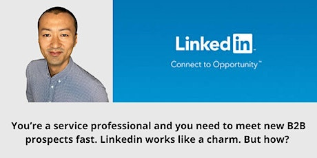 Learn How To Be A LinkedIn Professional with Hayato Nakamura tickets