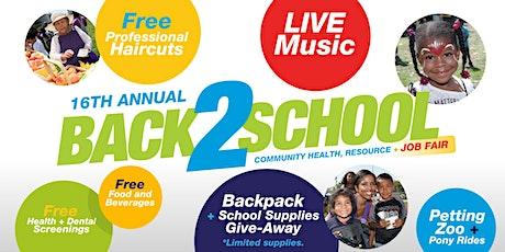 Back2School (16th) Volunteer Registration tickets