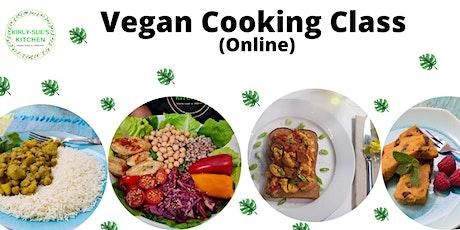 Vegan Cooking Class for Beginners - tickets
