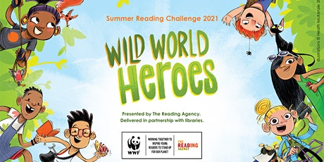 Wild World Heroes - Take Away Crafts from Ashington Library tickets