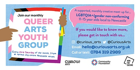 Curious Youth Arts Group (Newcastle) tickets