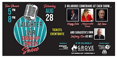 5 PM  SHOW - LAUGHTER in LWR! Stand-up Comedy Show! tickets