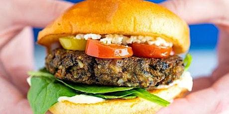 Busy Weeknight Meals- Best Bean Burger Ever! tickets