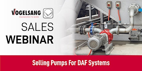 Sales Training Webinar: Selling Pumps For DAF Systems Tickets