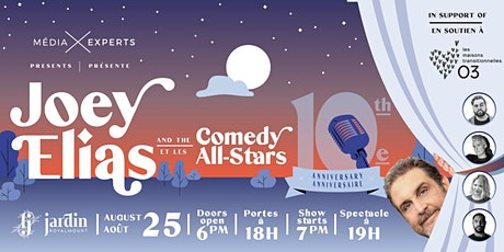 Joey Elias and the Comedy All-Stars / Joey Elias et les Comedy All-Stars billets