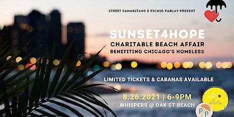 Sunset4Hope | Charitable Beach Affair tickets