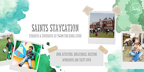 Saints Staycation @ YWAM The Kings Lodge - Thursday 5th August 2021 tickets