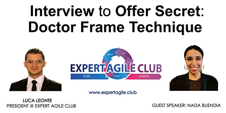 Interview to Offer Secret: Doctor Frame Technique tickets